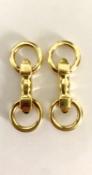 Type: Cuff Links Brand: Cartier Precious Metal: 18 carat Yellow Gold Description: Cartier