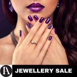 Huge Collection of Jewellery, Watches, Diamond Jewellery, Rings, Necklaces & Earrings, Gemstones, Engagement Rings,  Fees- 27.6% inc Vat
