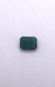 Rectangular Emerald 0.15 carat Ref 402