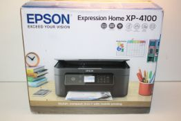 BOXED EPSON EXPRESSION HOME XP-4100 RRP £59.99Condition ReportAppraisal Available on Request- All