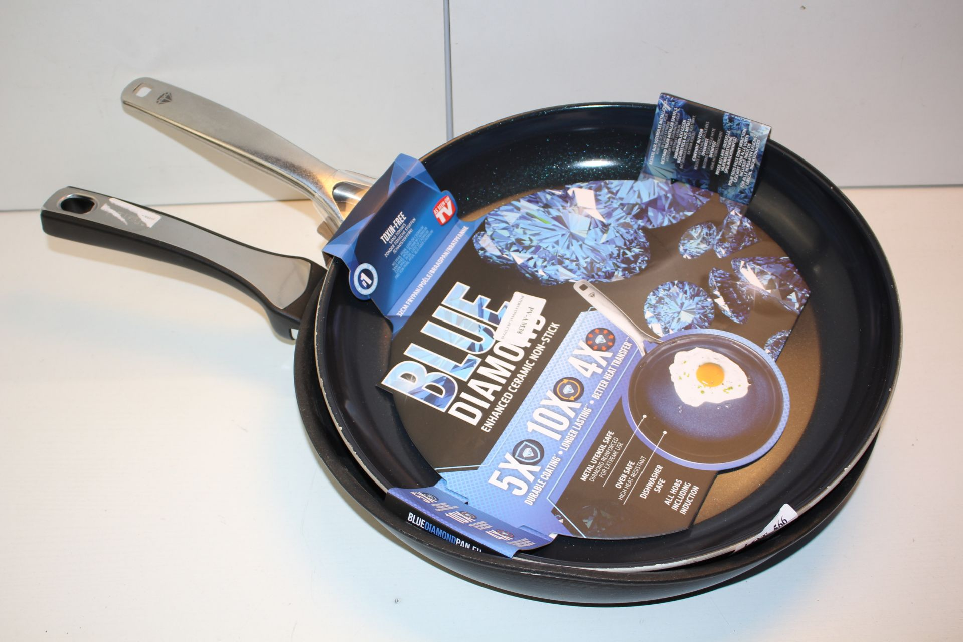 X2 FRYING PAN, TEFAL AND BLUE DIAMONDCondition ReportAppraisal Available on Request- All Items are