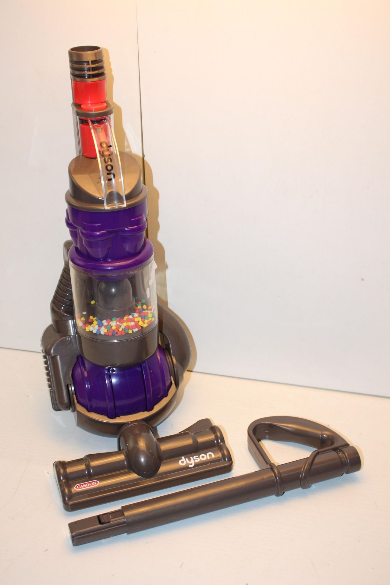 BOXED CASDON DYSON UPRIGHT VACUUM CLEANER (TOY)Condition ReportAppraisal Available on Request- All