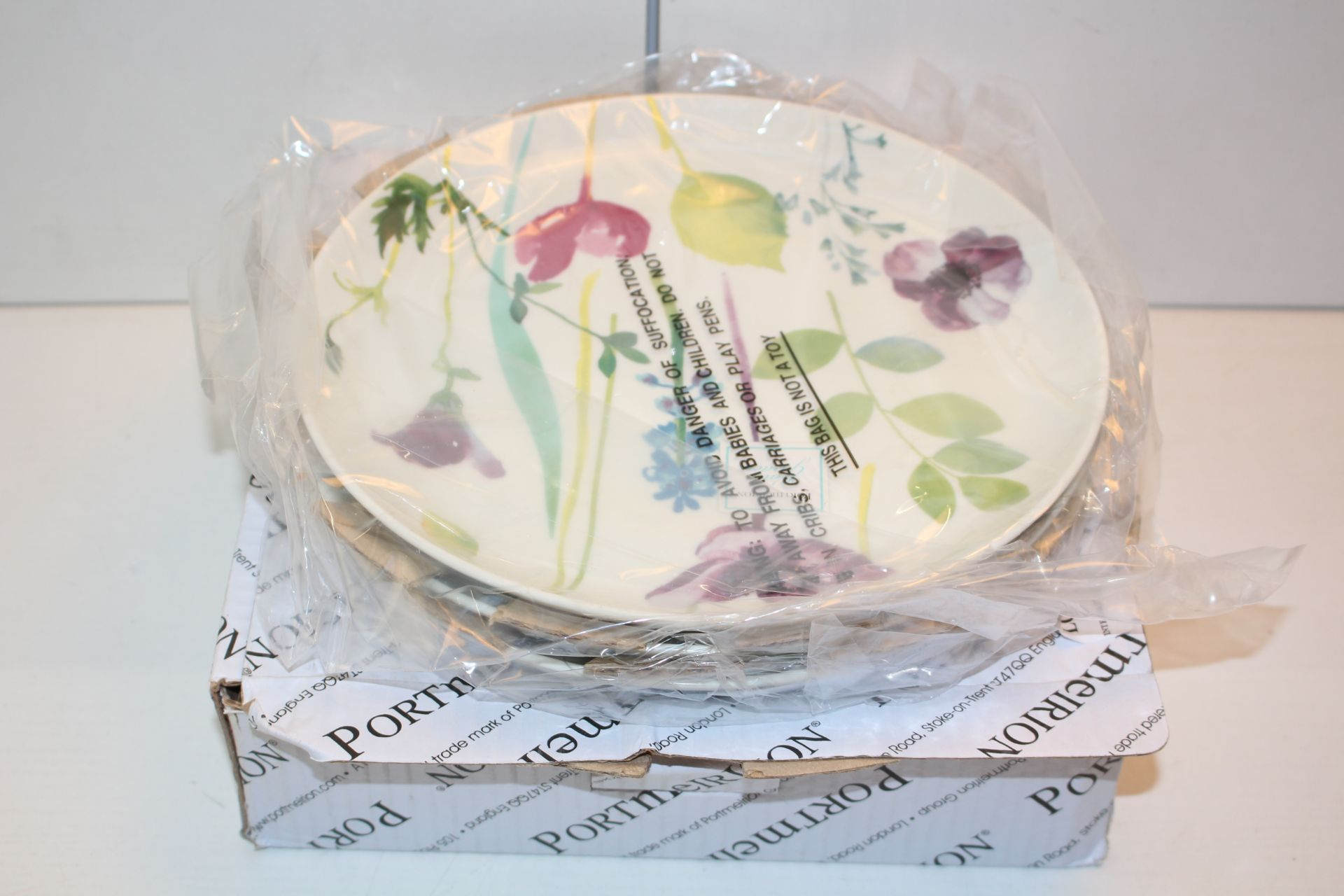 X3 BOXED PORTMEIRION PLATESCondition ReportAppraisal Available on Request- All Items are Unchecked/