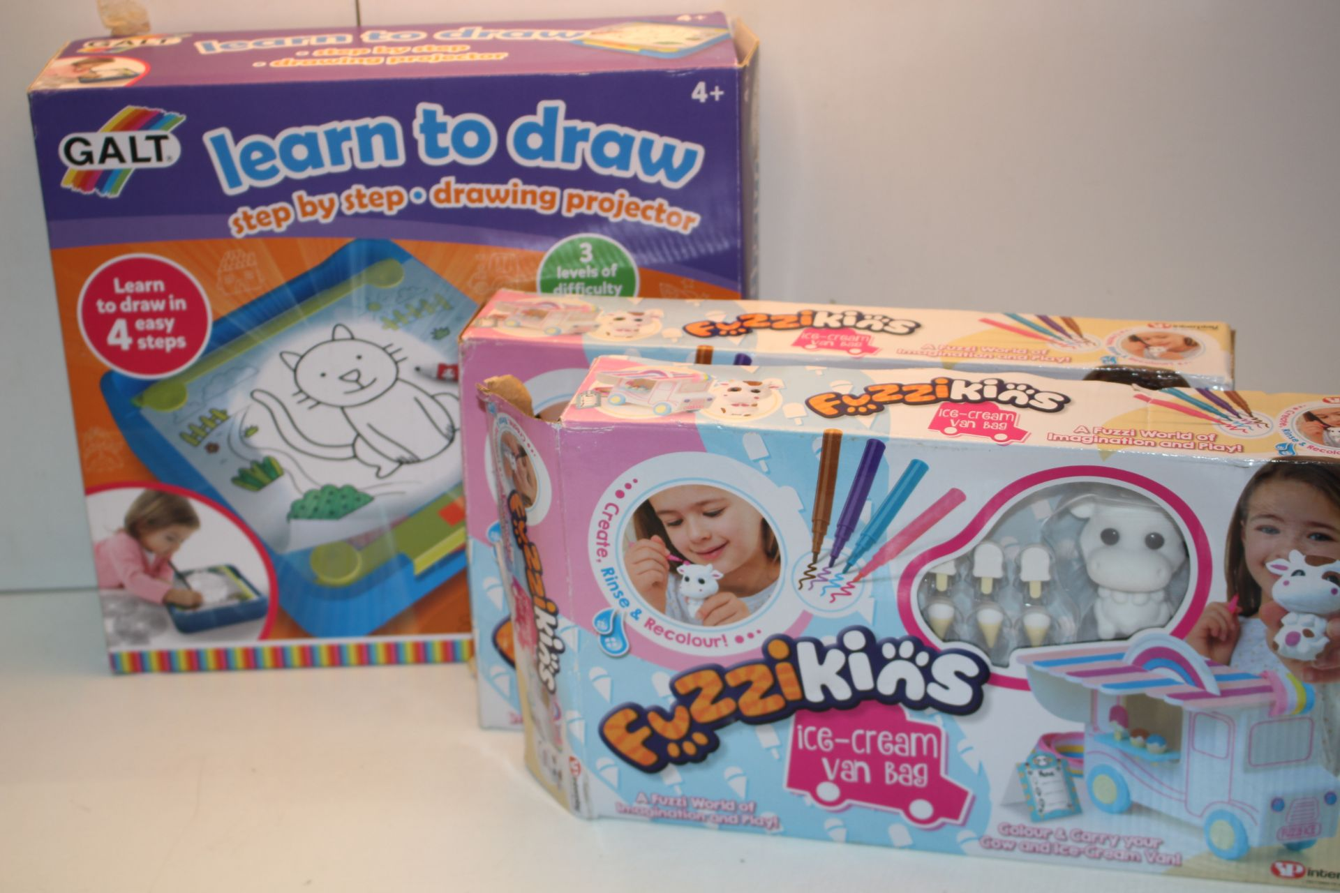 3X ASSORTED BOXED ITEMS TO INCLUDE GALT LEARN TO DRAW & OTHER 9IMAGE DEPICTS STOCK)Condition