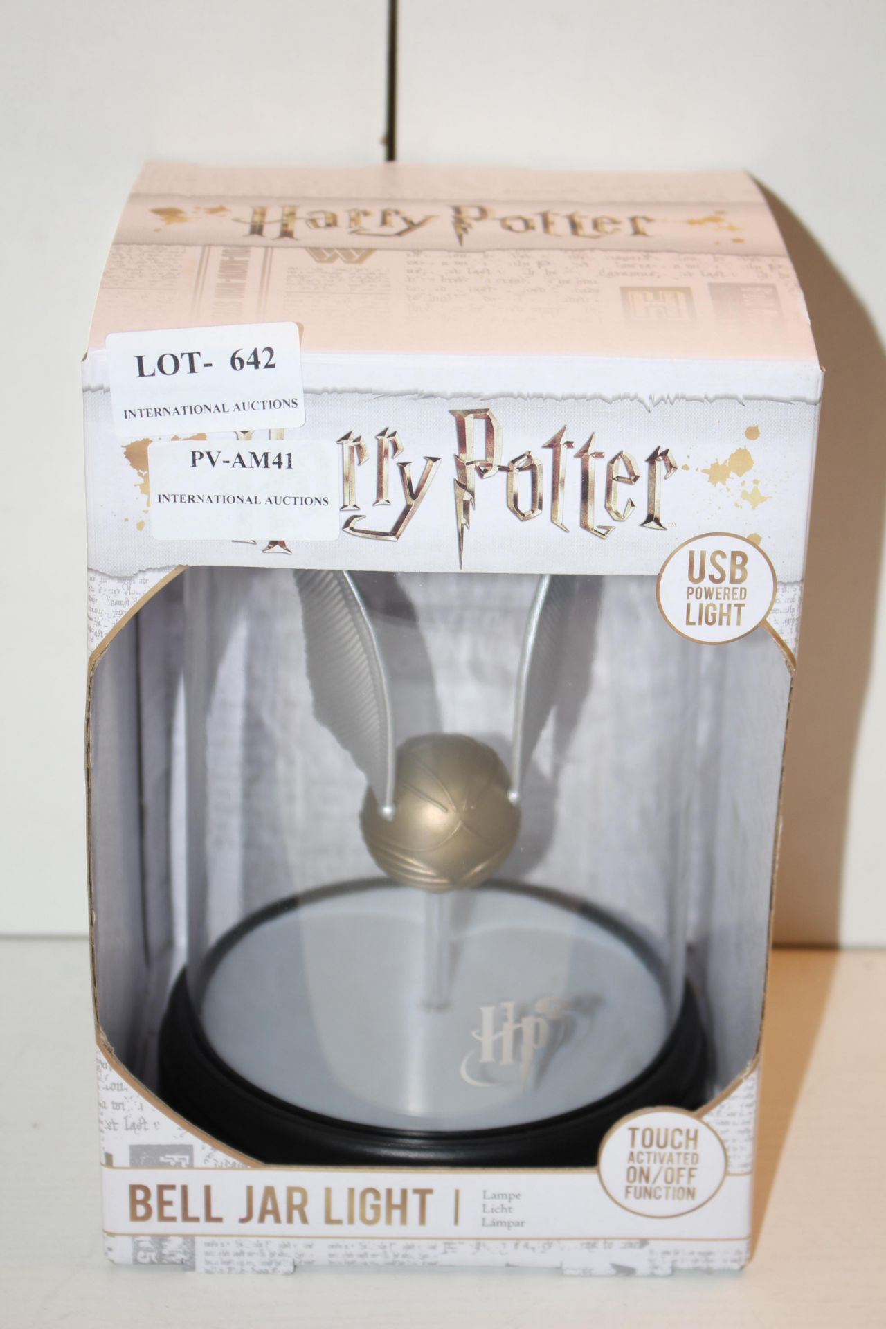 BOXED HARRY POTTER BELL JAR LIGHTCondition ReportAppraisal Available on Request- All Items are