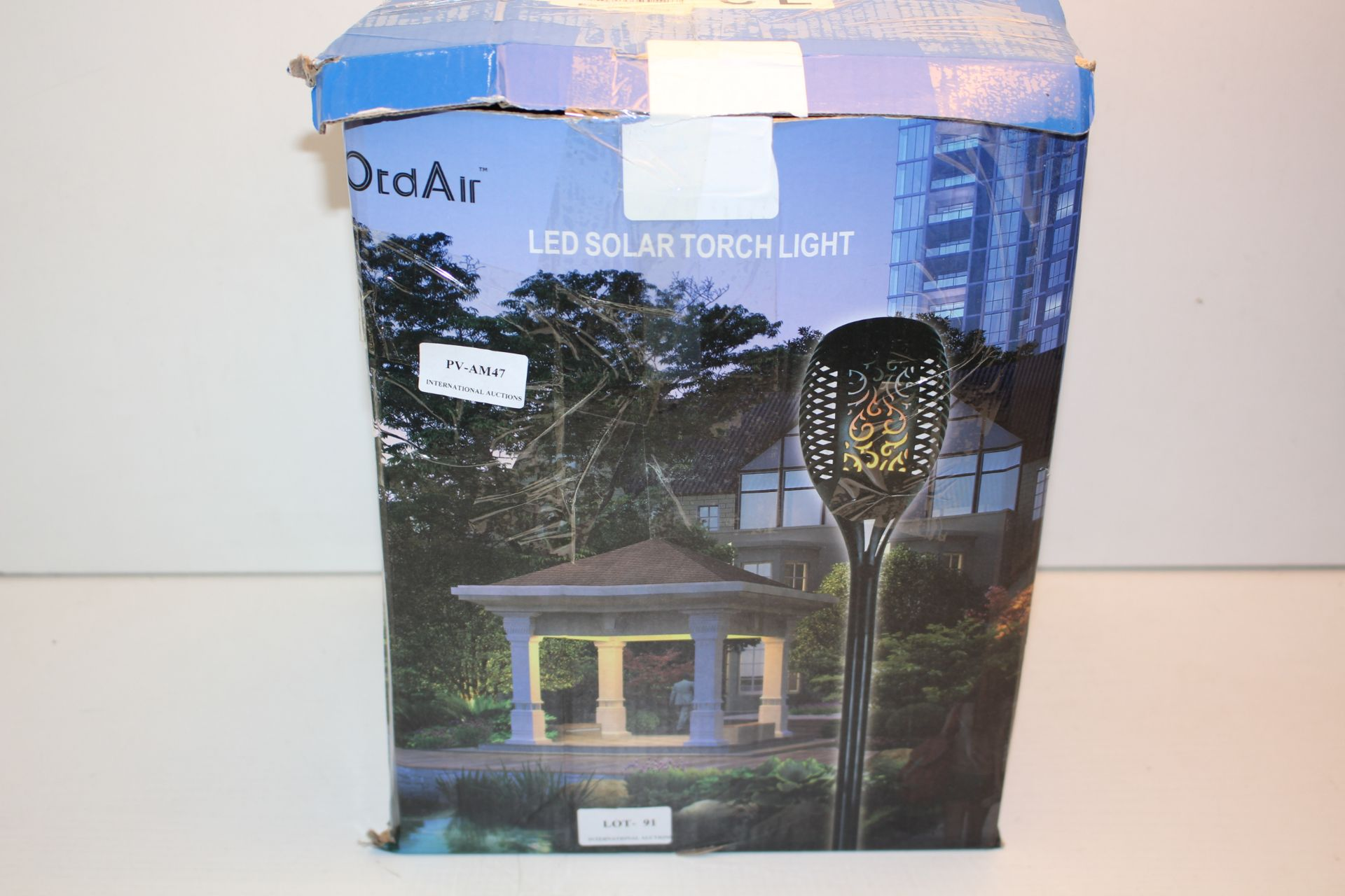 BOXED ORD AIR LED SOLAR TORCH LIGHT Condition ReportAppraisal Available on Request- All Items are