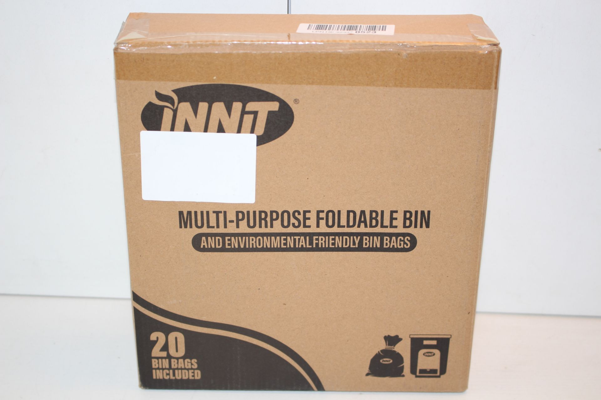 BOXED INNIT MULTIPURPOSE FOLDABLE BINCondition ReportAppraisal Available on Request- All Items are