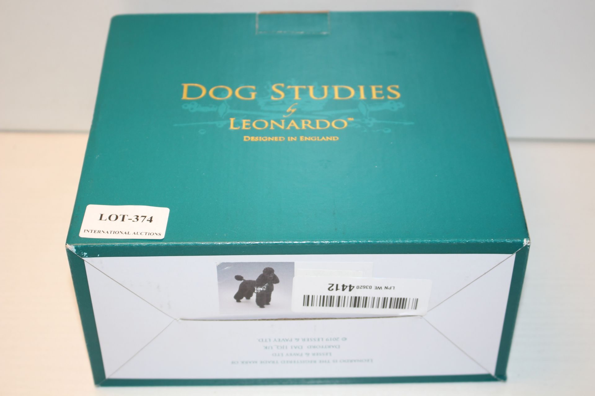 BOXED DOG STUDIES BY LEONARDO Condition ReportAppraisal Available on Request- All Items are