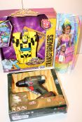 3X BOXED ASSORTED TOYS TO INCLUDE BARBIE, BUMBLEBEE & BOSCH (IMAGE DEPICTS STOCK)Condition