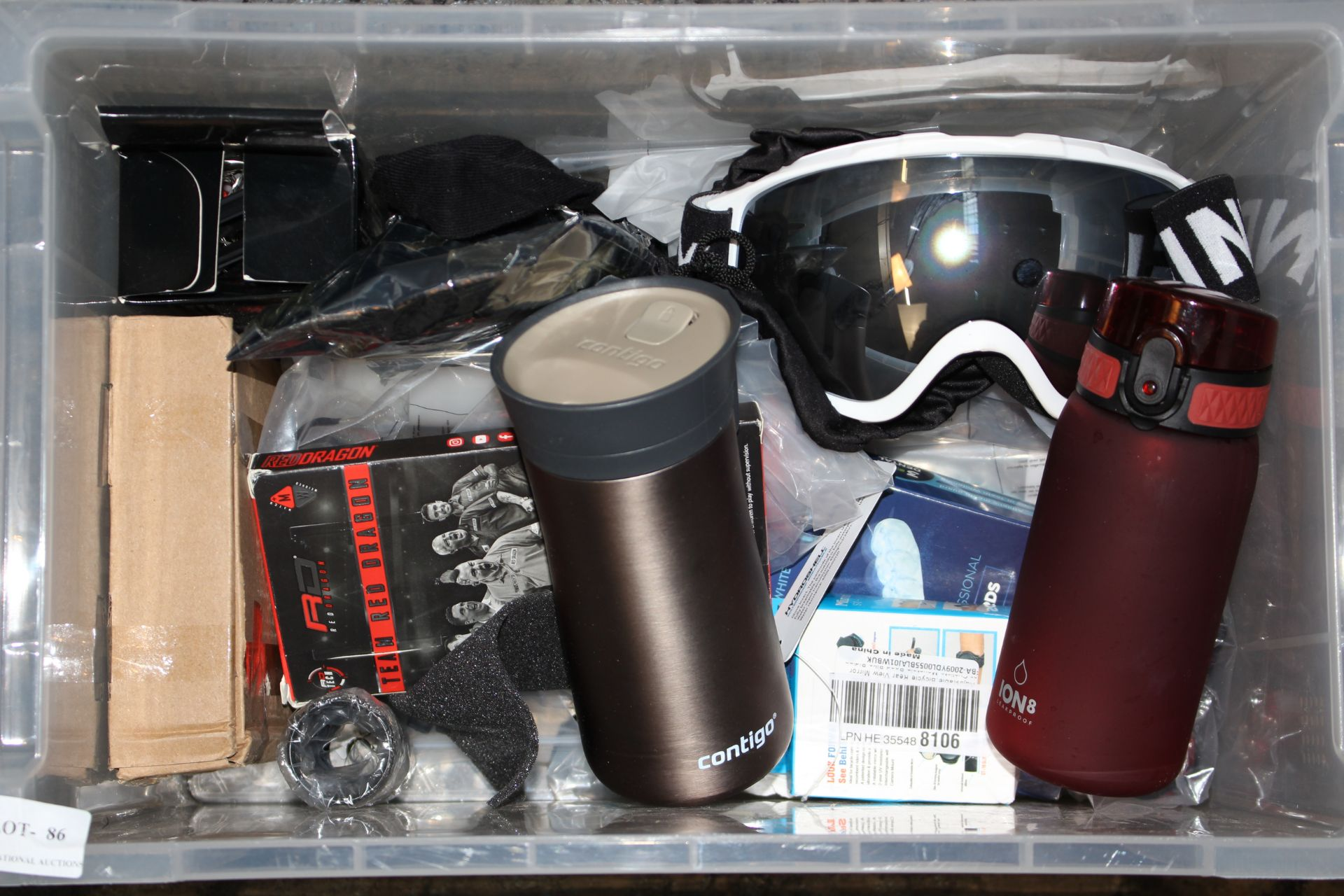10X ASSORTED ITEMS (IMAGE DEPICTS STOCK/CLEAR BOX NOT INCLUDED)Condition ReportAppraisal Available