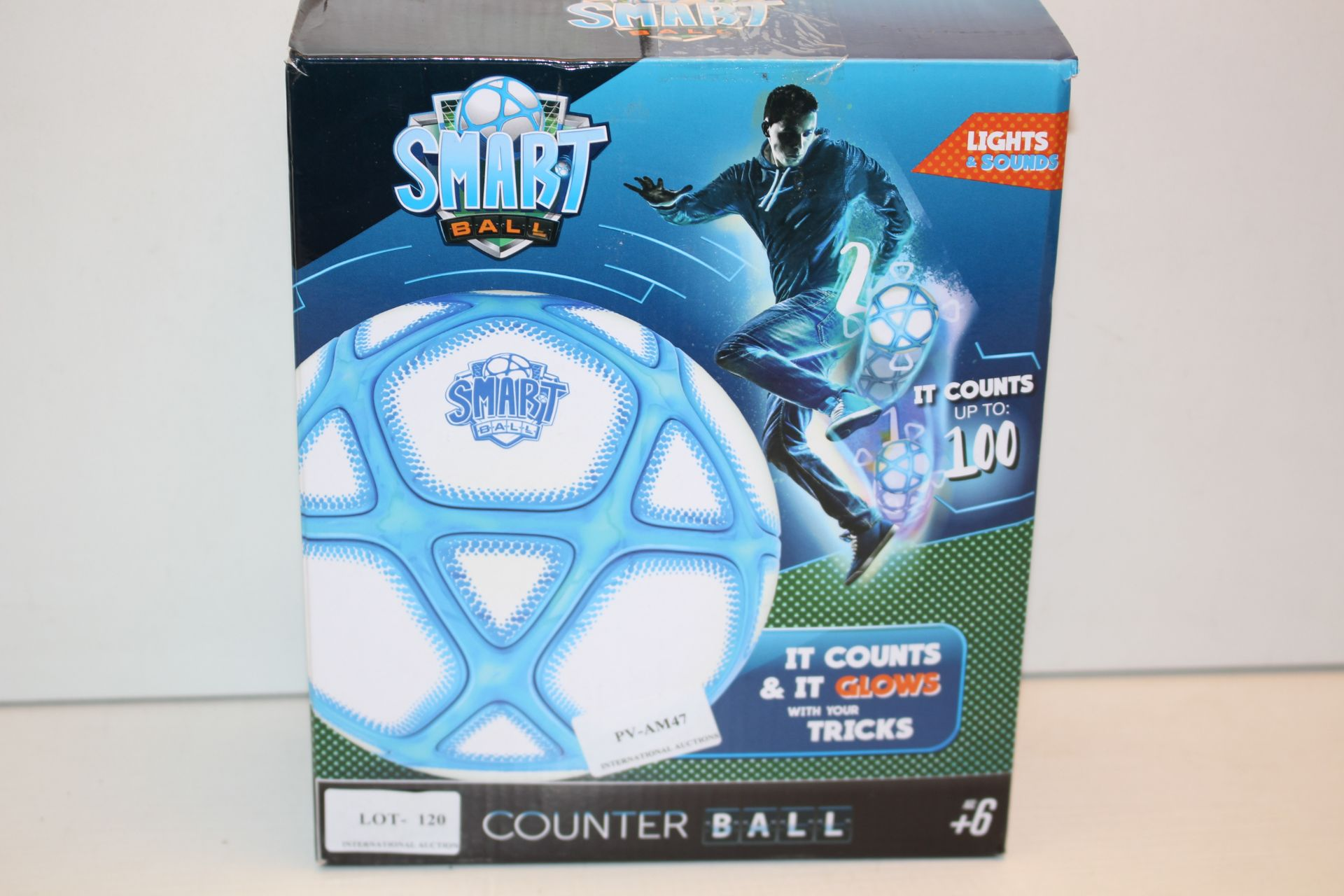 BOXED SMART BALL COUNTER BALL Condition ReportAppraisal Available on Request- All Items are