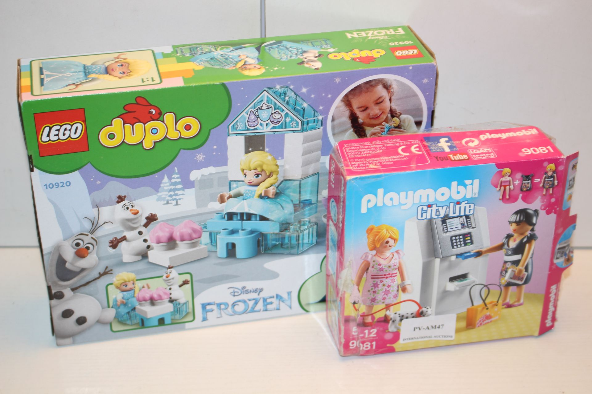 2X BOXED ASSORTED ITEMS TO INCLUDE LEGO DUPLO & PLAYMOBIL (IMAGE DEPICTS STOCK)Condition