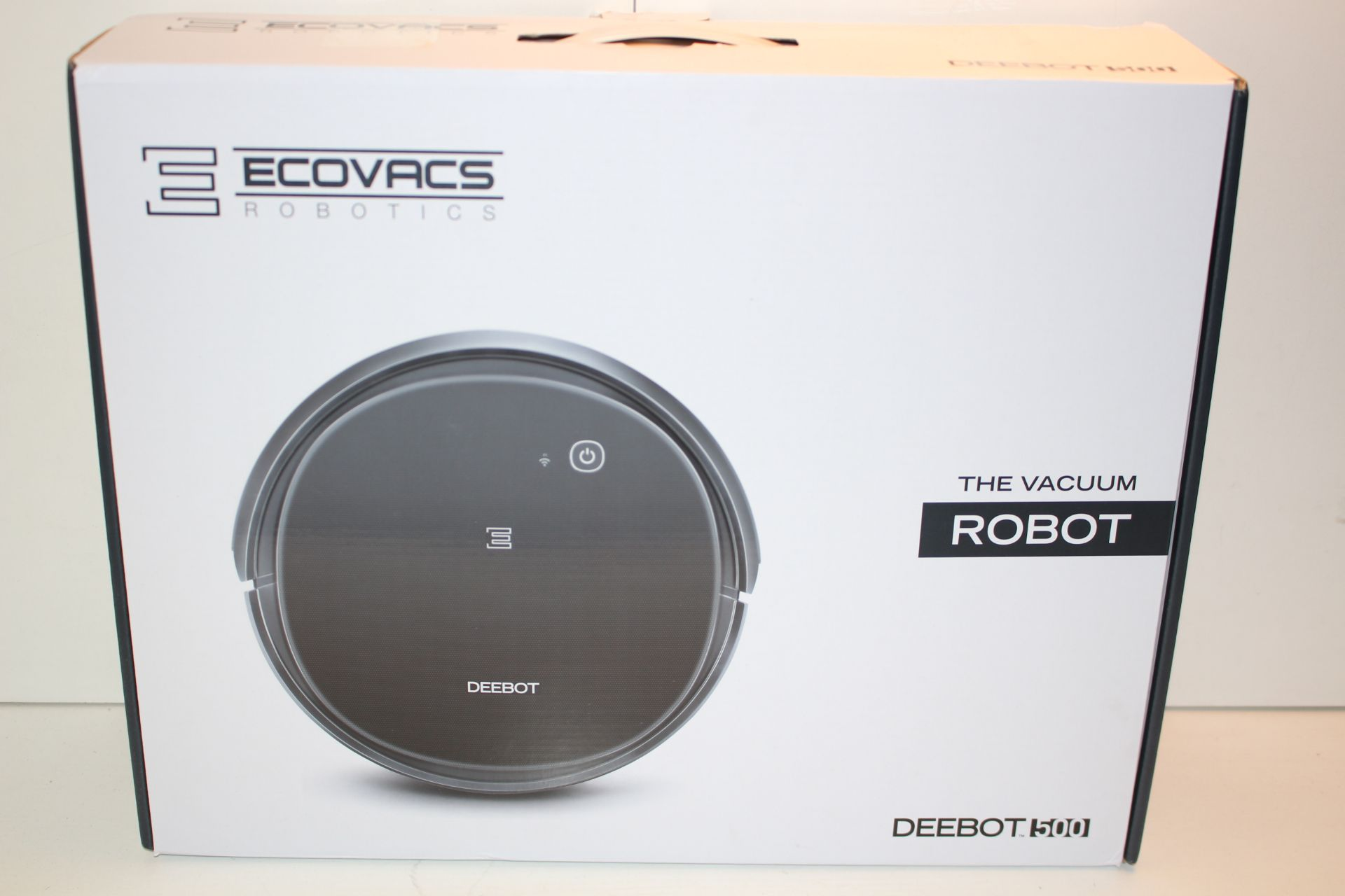 BOXED ECOVACS ROBOTICS, DEEBOT 500Condition ReportAppraisal Available on Request- All Items are