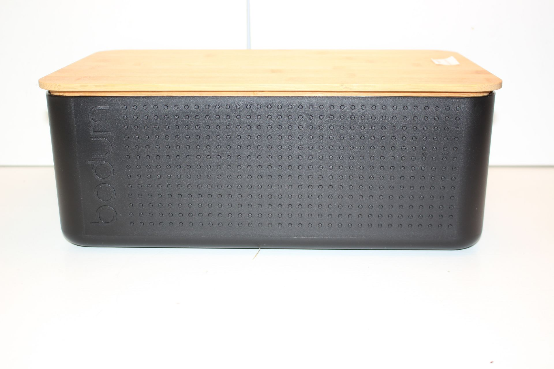 UNBOXED BODEM BLACK BREAMBIN WITH WOODEN LIDCondition ReportAppraisal Available on Request- All