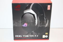 BOXED REPUBLIC OF GAMERS - ROG THETA 7.1 SUPERIOR 7.1 GAMING HEADSETCondition ReportAppraisal