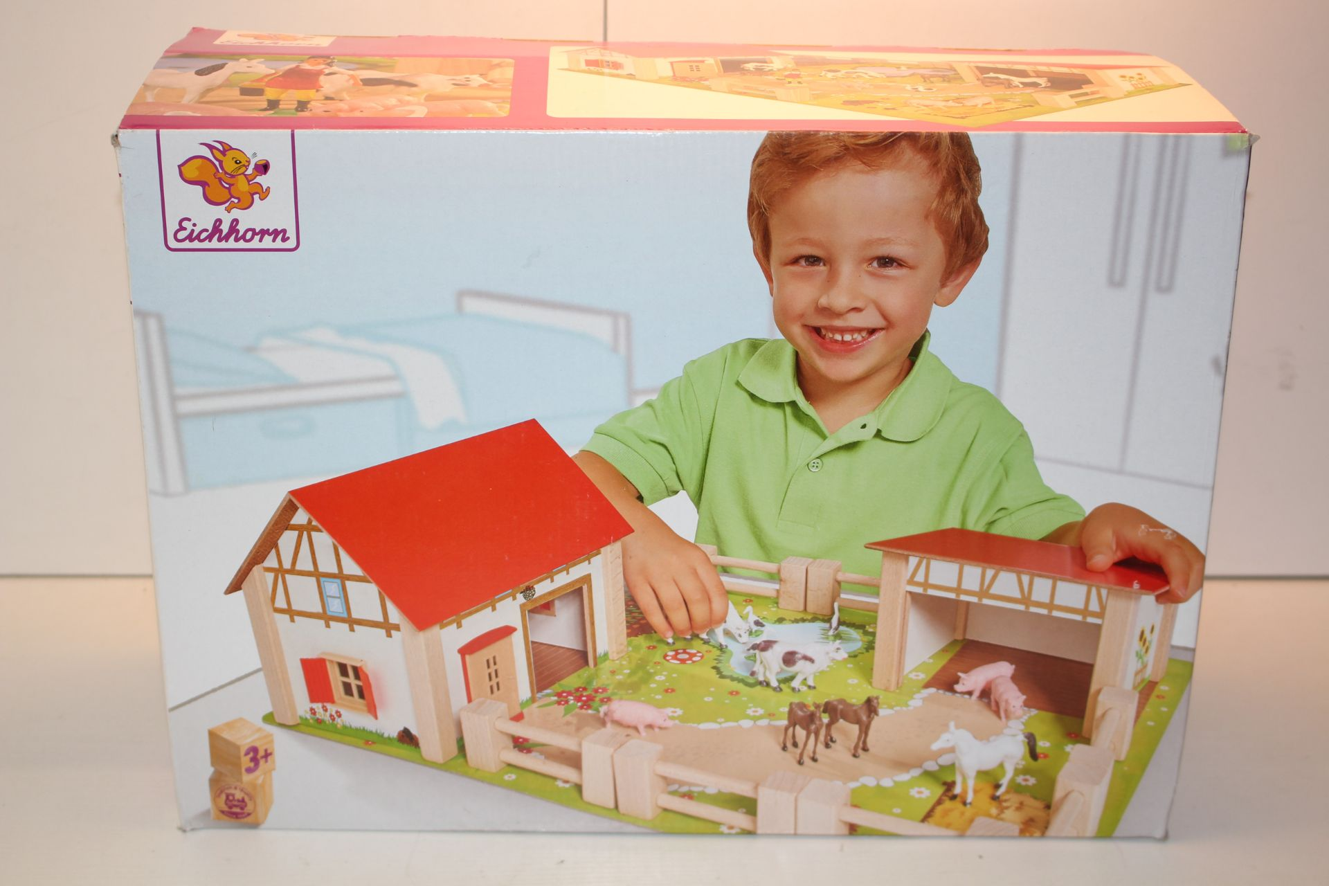 BOXED EICHORN FARM SET RRP £44.99Condition ReportAppraisal Available on Request- All Items are