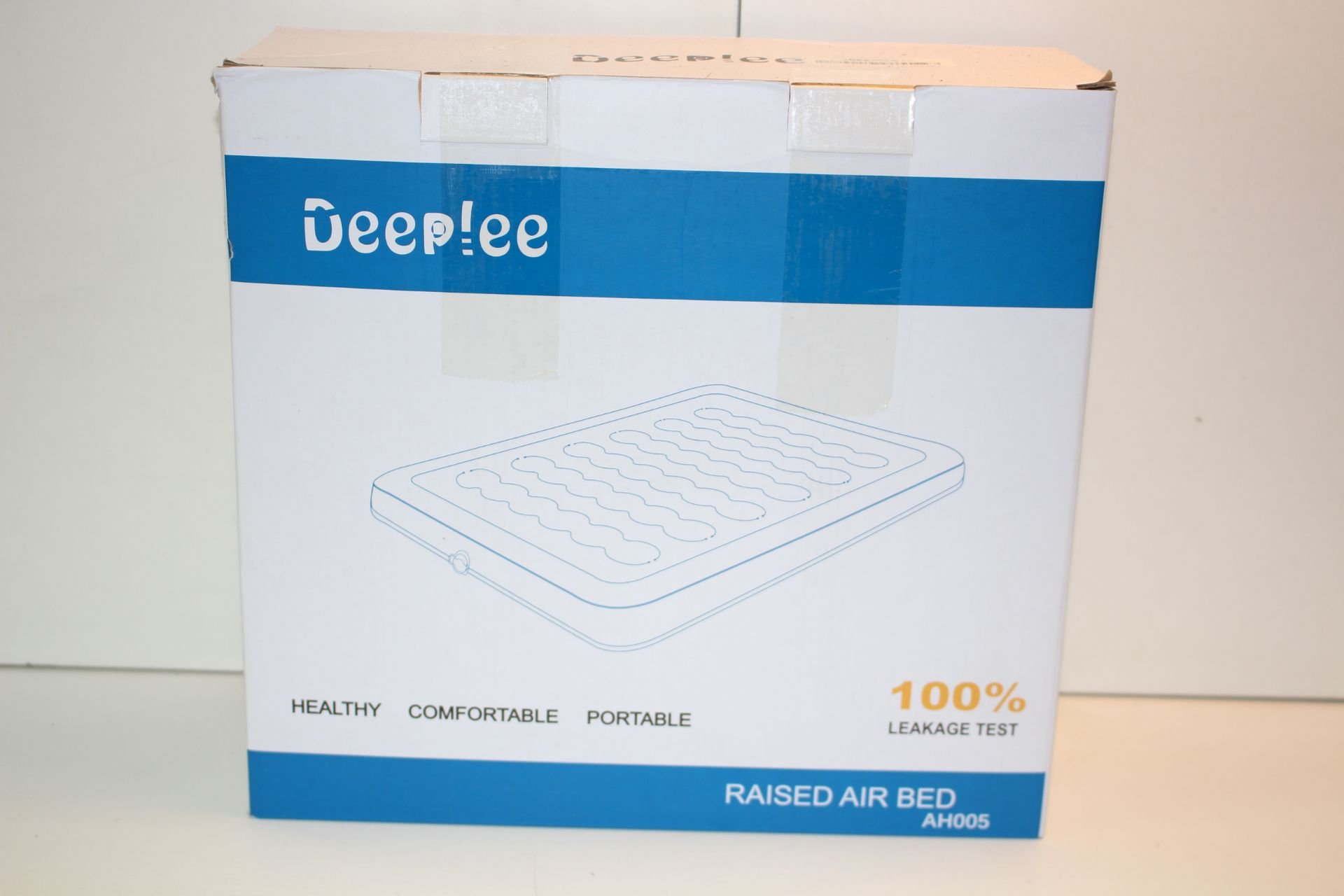 BOXED DEEPLEE TWIN AIRBEDCondition ReportAppraisal Available on Request- All Items are Unchecked/