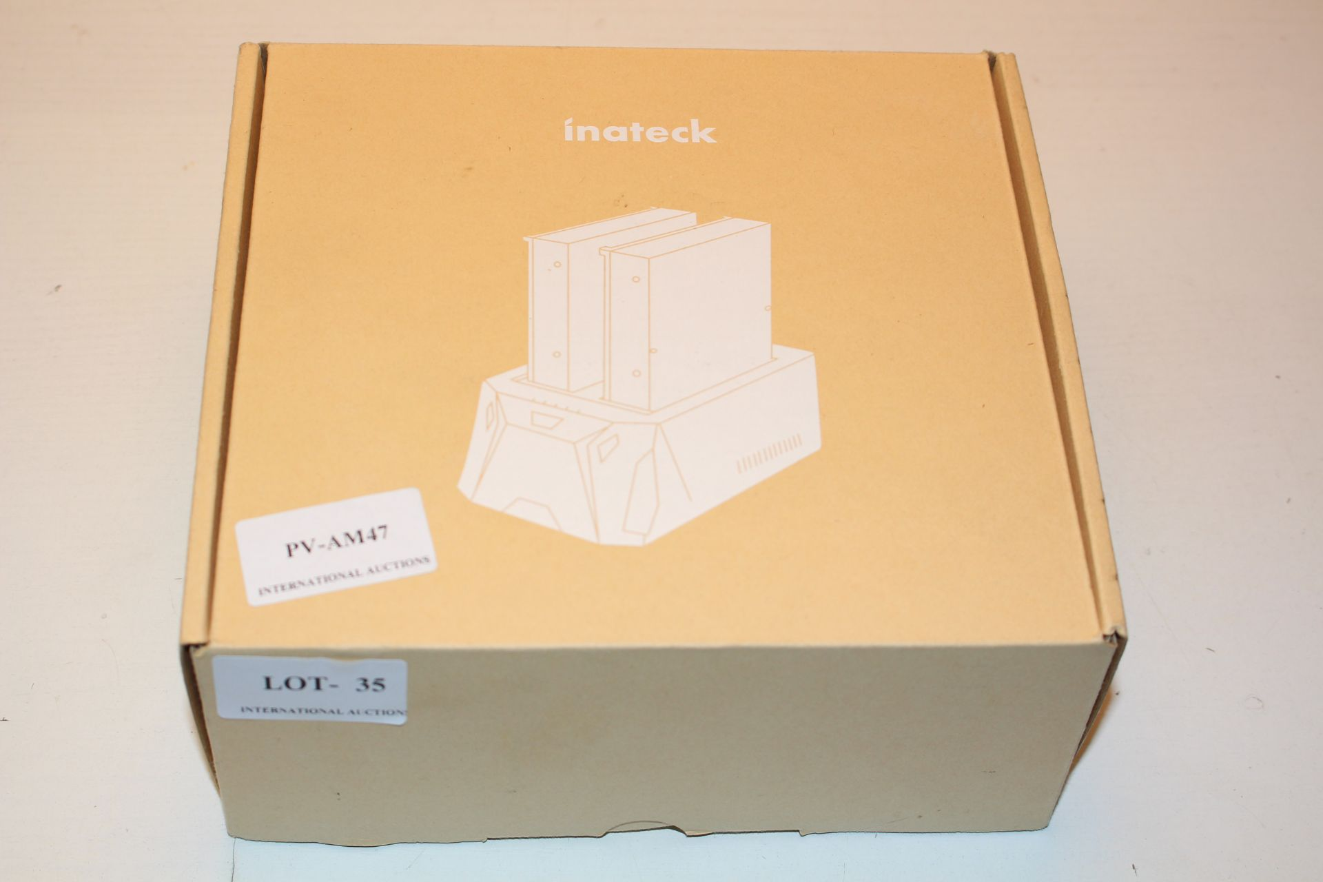 BOXED INNATEK FD2005 HARD DRIVE DOCKING STATION RRP £29.99Condition ReportAppraisal Available on