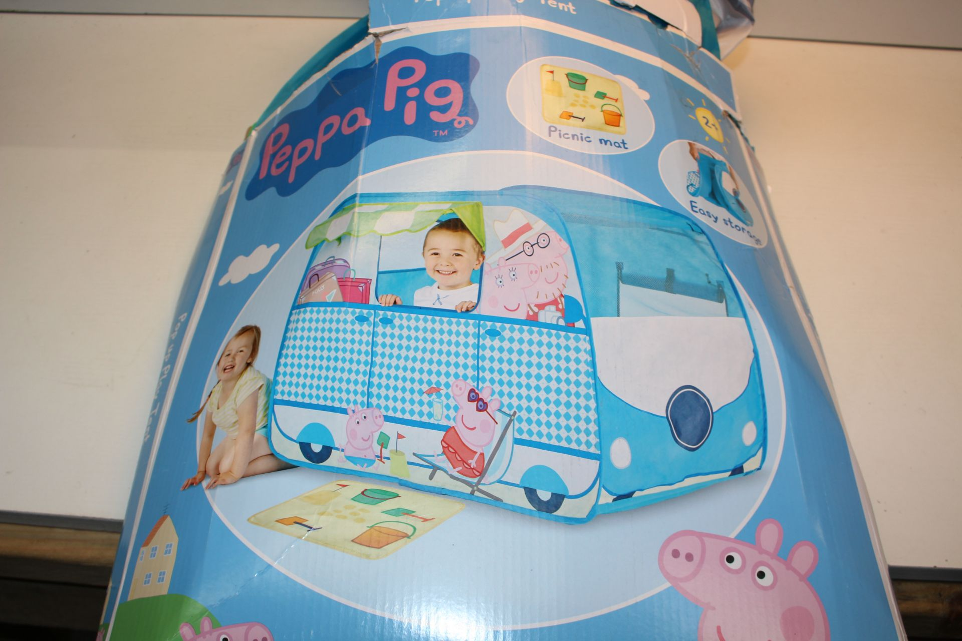 BOXED PEPPA PIG PLAY TENT Condition ReportAppraisal Available on Request- All Items are Unchecked/