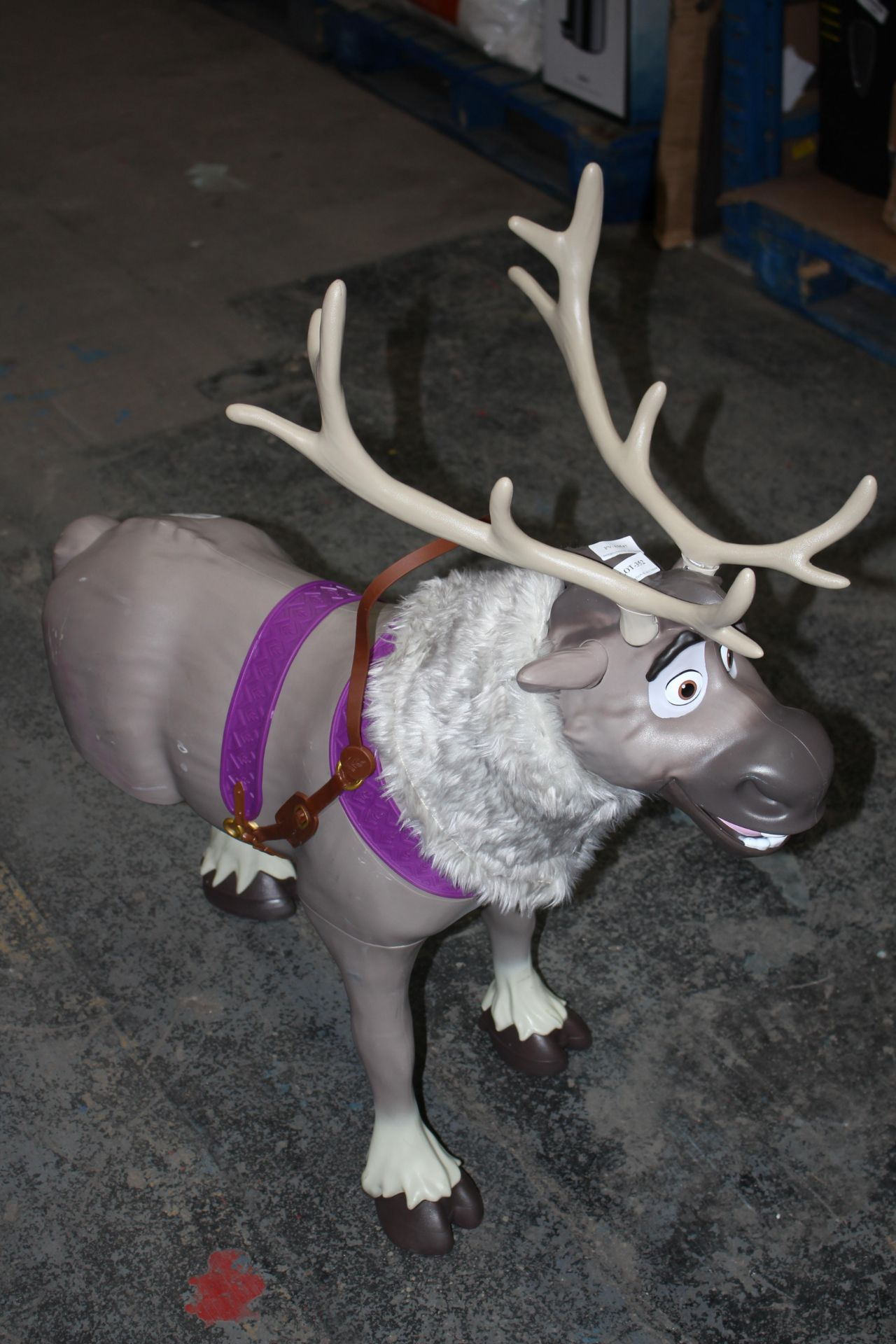 LARGE 3 LEGGED DISNEY REINDEERCondition ReportAppraisal Available on Request- All Items are