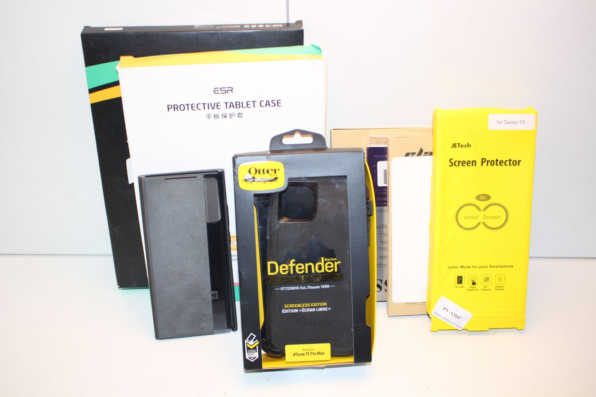 8X ASSORTED CASES FOR IPADS PHONES TABLETS Condition ReportAppraisal Available on Request- All Items
