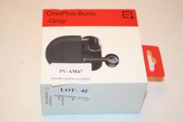 BOXED ONEPLUS BUDS GRAY 1+Condition ReportAppraisal Available on Request- All Items are Unchecked/