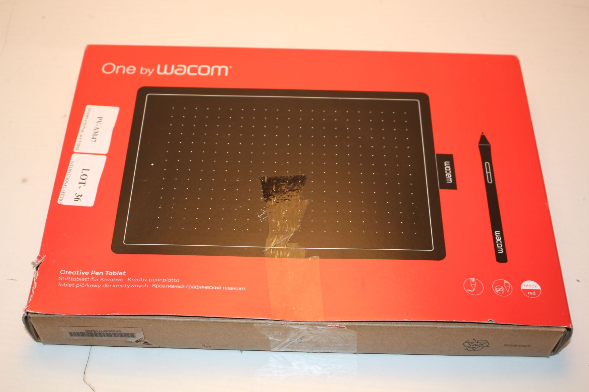 BOXED ONE BY WACOM CREATIVE PEN TABLET RRP £56.00Condition ReportAppraisal Available on Request- All