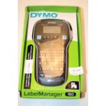 BOXED DYMO LABEL MANAGER 160 RRP £44.99Condition ReportAppraisal Available on Request- All Items are