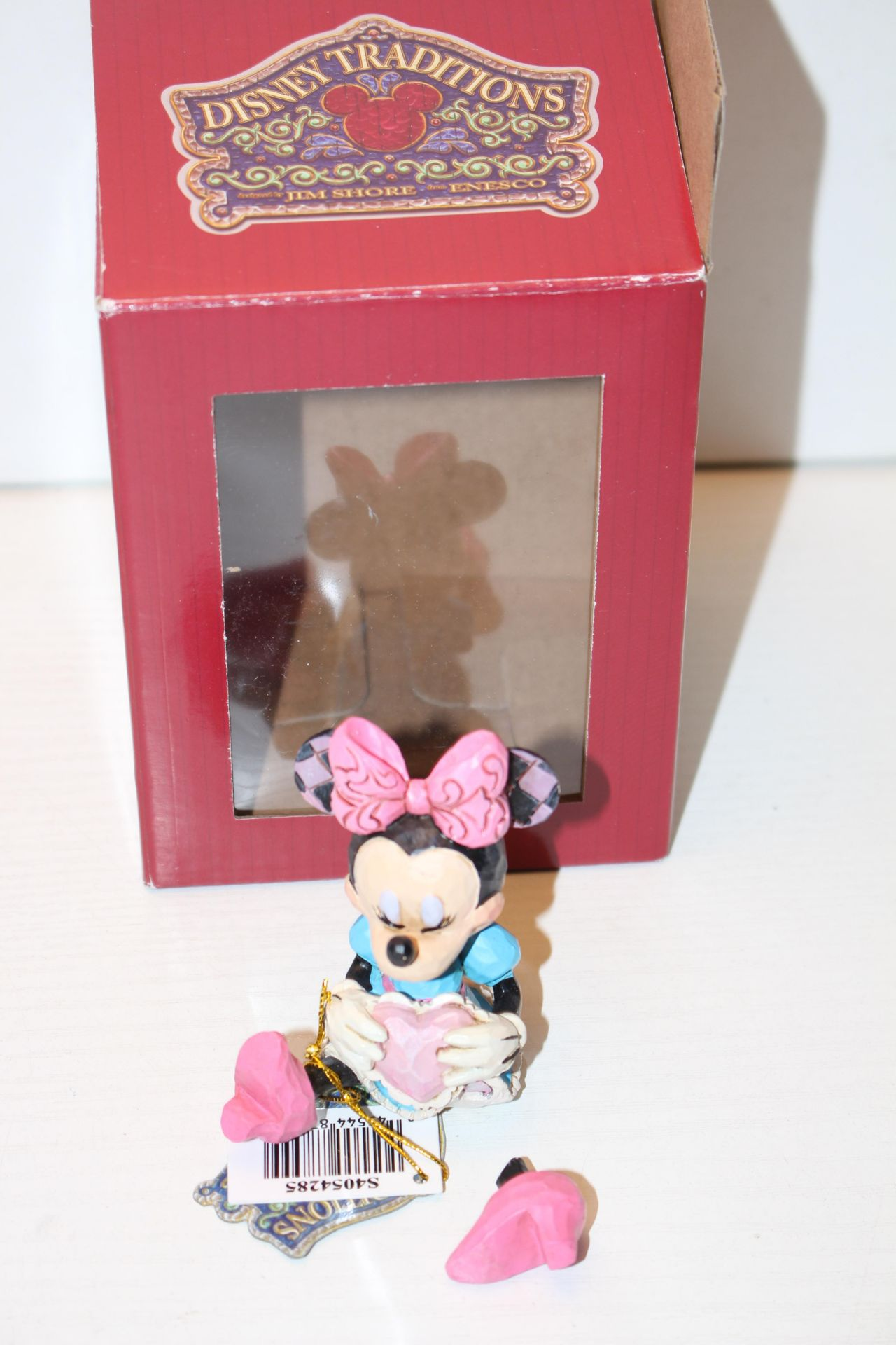 BOXED DISNEY TRADITIONS MINNIE MINI FIGURINE Condition ReportAppraisal Available on Request- All