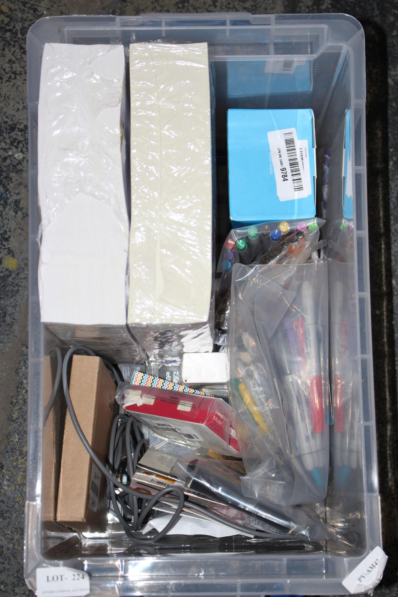 12X ASSORTED ITEMS (IMAGE DEPICTS STOCK/CLEAR BOX NOT INCLUDED)Condition ReportAppraisal Available