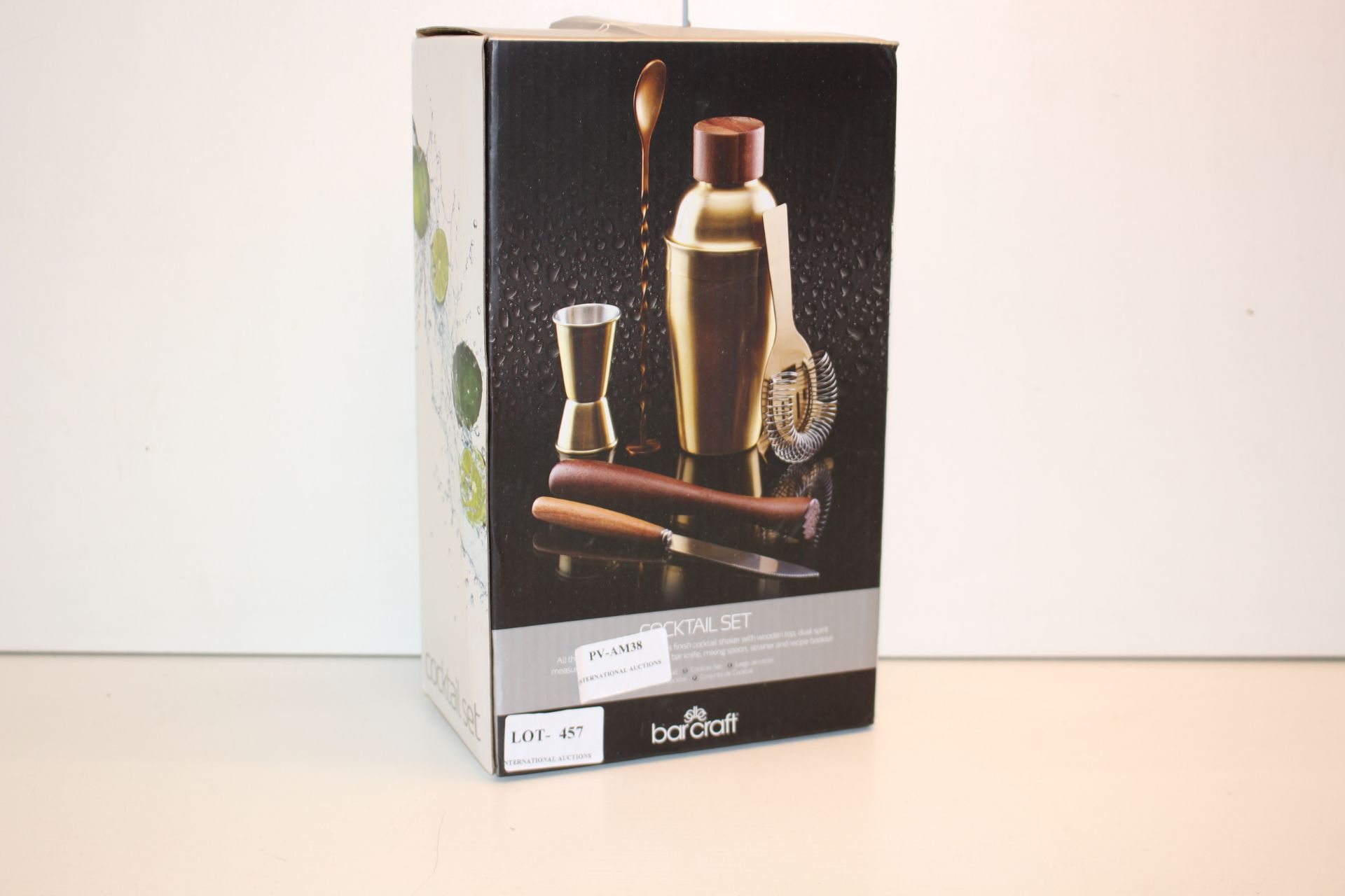 BOXED BARCRAFT COCKTAIL SET Condition ReportAppraisal Available on Request- All Items are