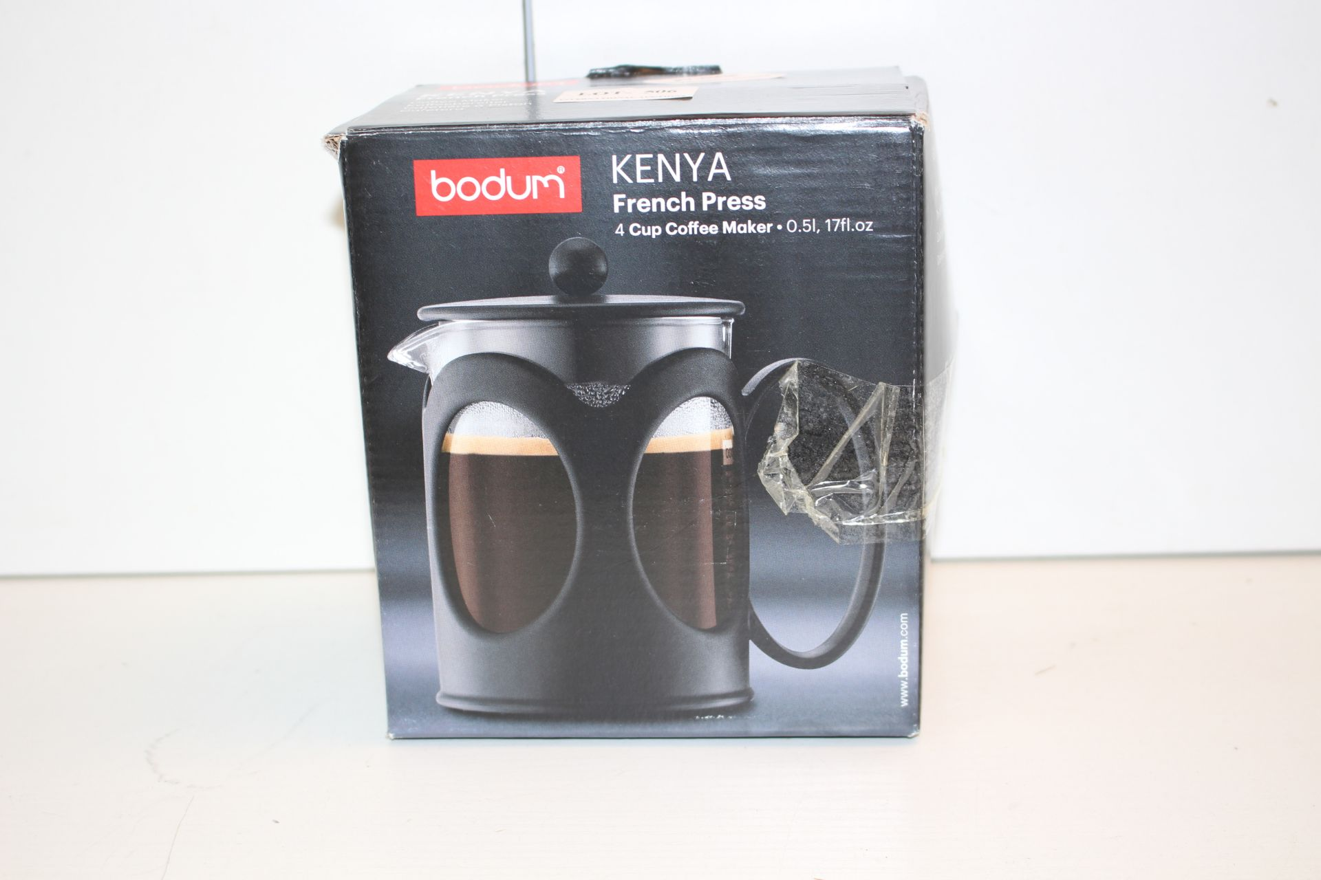 BOXED BODUM KENYA FRENCH PRESSCondition ReportAppraisal Available on Request- All Items are