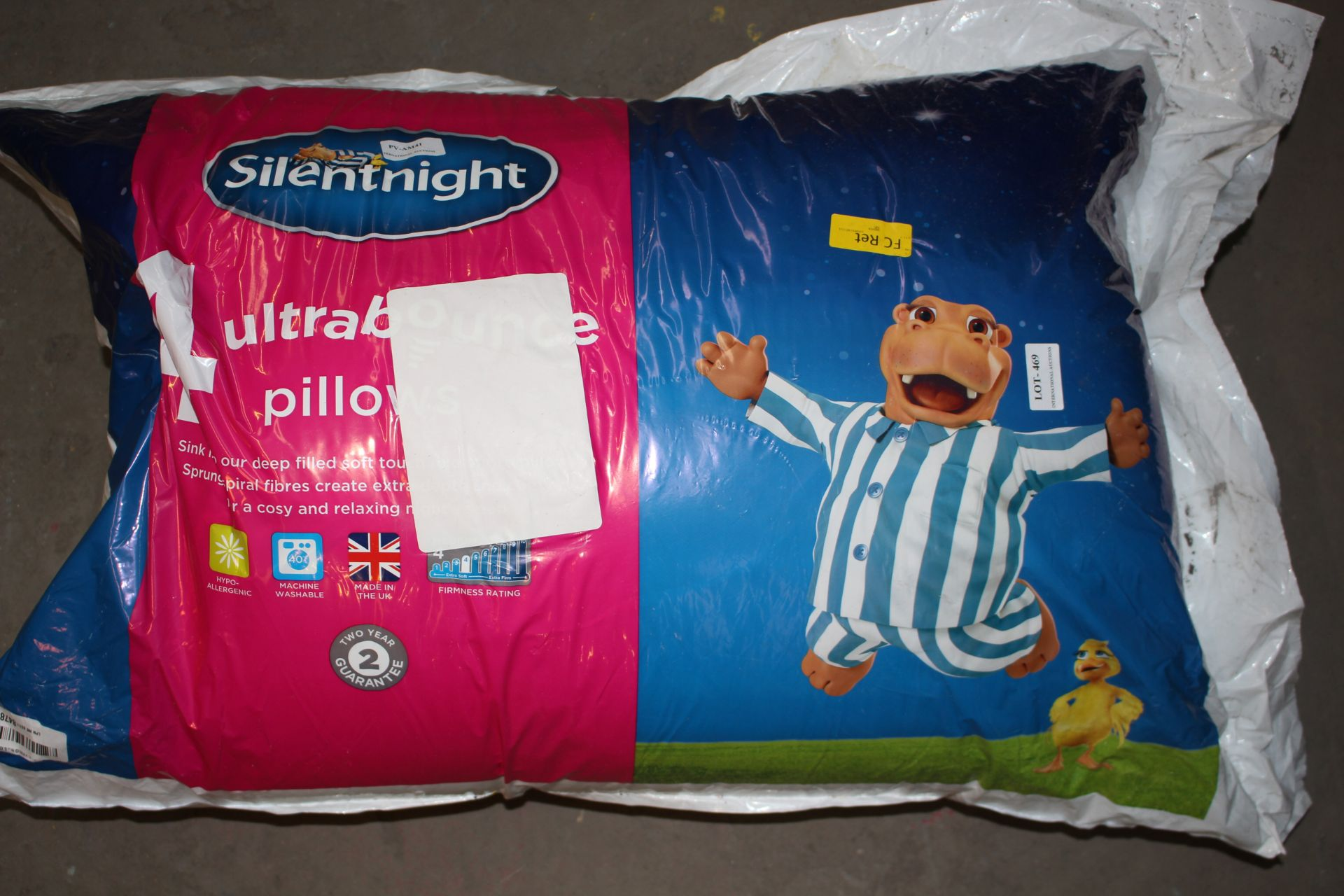 BAGGED SILENTNIGHT 4 ULTRA BOUNCE PILOOWSCondition ReportAppraisal Available on Request- All Items