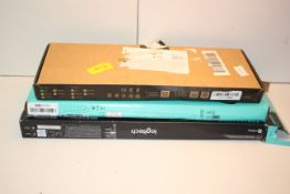 3X BOXED ASSORTED KEYBOARDS BY LOGITECH & OTHER (IMAGE DEPICTS STOCK)Condition ReportAppraisal