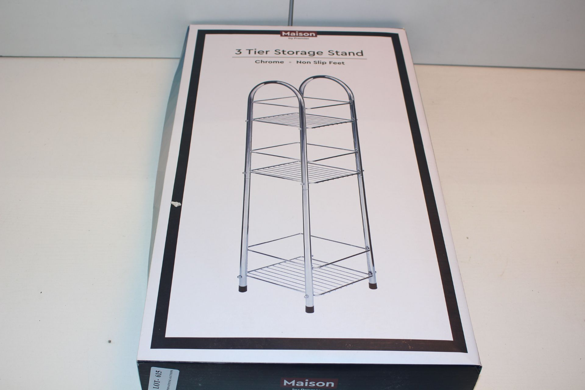 BOXED MAISON THREE TIER STORAGE STANDCondition ReportAppraisal Available on Request- All Items are