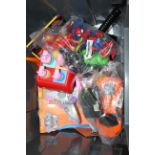 9X ASSORTED TOYS (IMAGE DEPICTS STOCK/GREY BOX NOT INCLUDED)Condition ReportAppraisal Available on