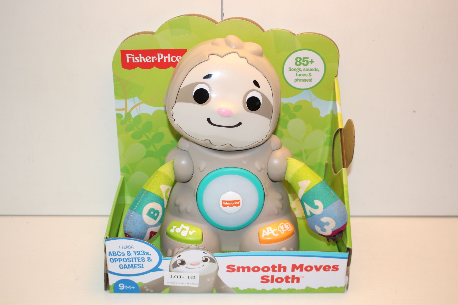 BOXED FISHER PRICE SMOOTH MOVES SLOTH RRP £29.59Condition ReportAppraisal Available on Request-