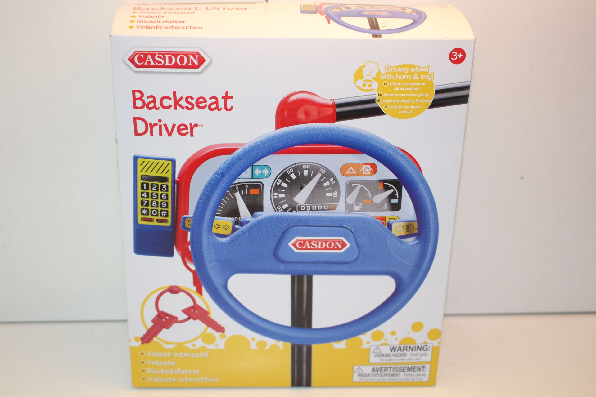 BOXED CASDON BACKSET DRIVER TOYCondition ReportAppraisal Available on Request- All Items are