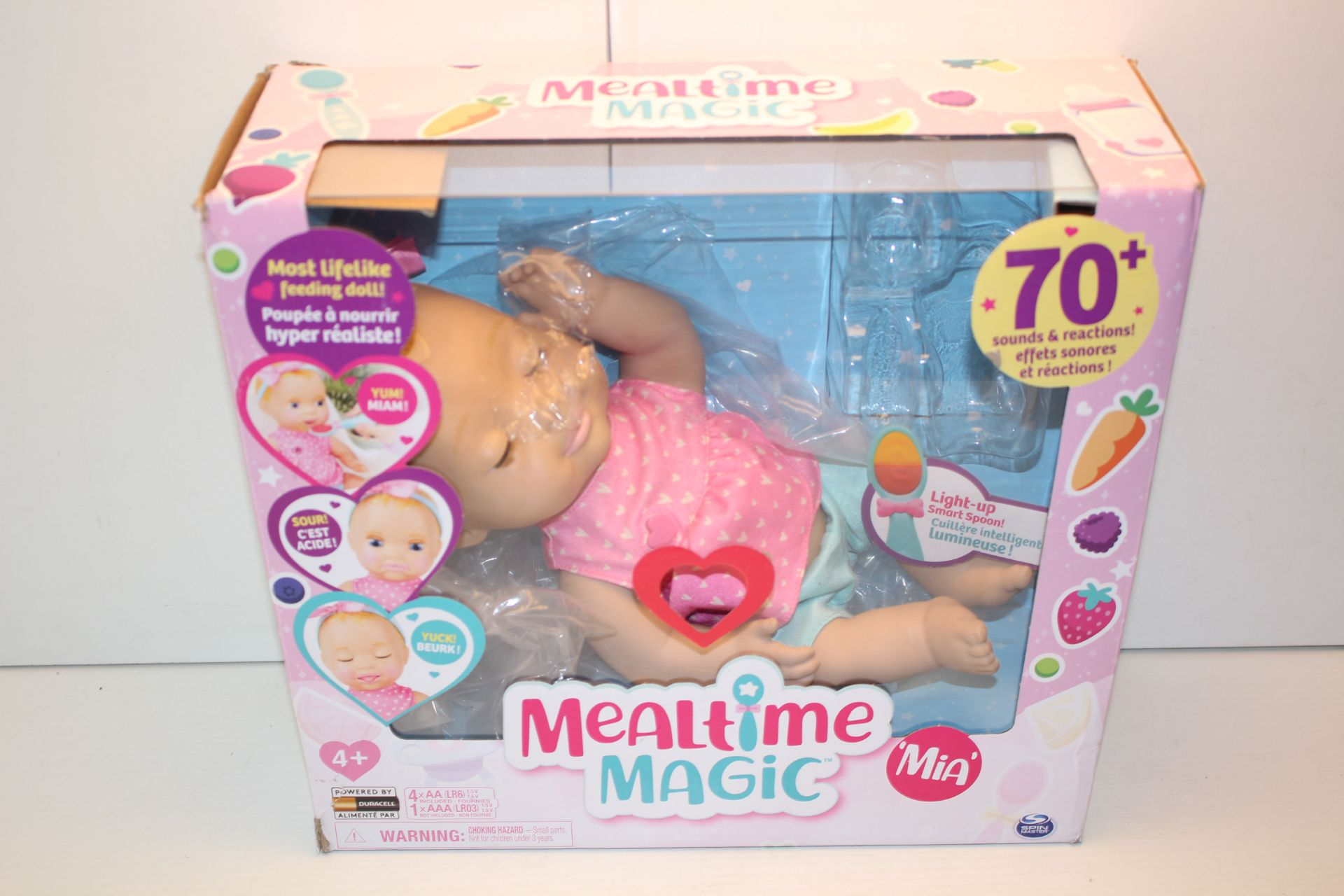 BOXED MEALTIME MAGIC MIA DOLL RRP £29.99Condition ReportAppraisal Available on Request- All Items