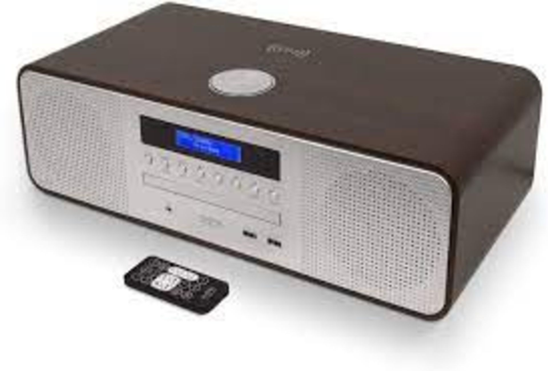 BOXED AUDIBLE FIDELITY AF-10 COMPACVT HI-FI STEREO SYSTEM WITH DAB/FM BLUETOOTH CD USB PLAYBACK