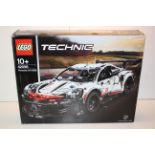 BOXED LEGO TECHNIC PORSCHE 911 RSR 42096 RRP £139.99Condition ReportAppraisal Available on