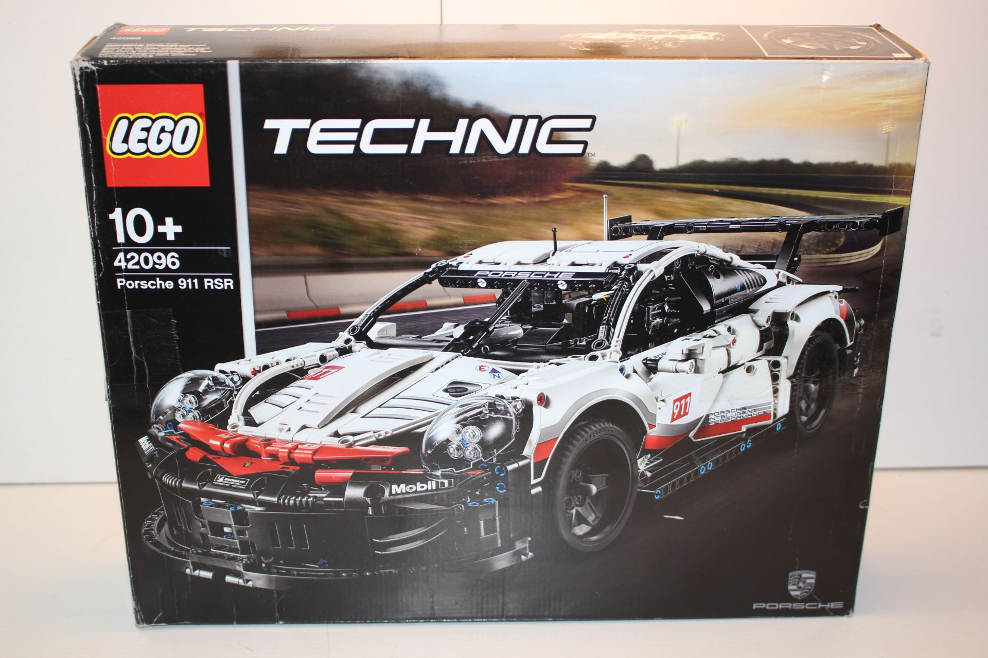 BOXED LEGO TECHNIC PORSCHE 911 RSR 42096 RRP £139.99Condition ReportAppraisal Available on