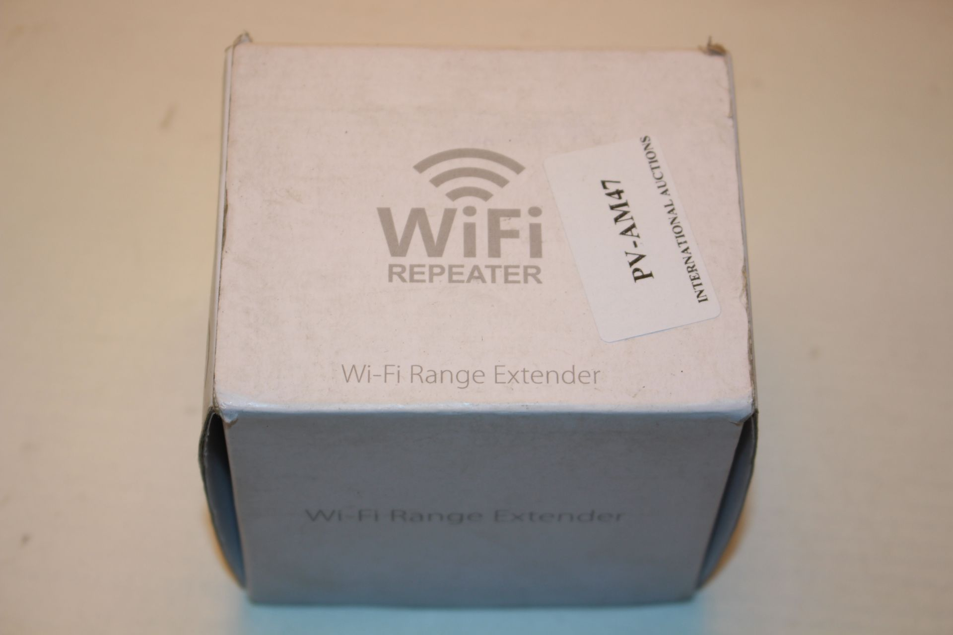 BOXED WIFI REPEATER WIFI RANGE EXTENDER Condition ReportAppraisal Available on Request- All Items