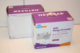 2X BOXED NETGEAR WIFI RANGE EXTENDERS ESSENTIALS EDITION COMBINED RRP £80.00Condition