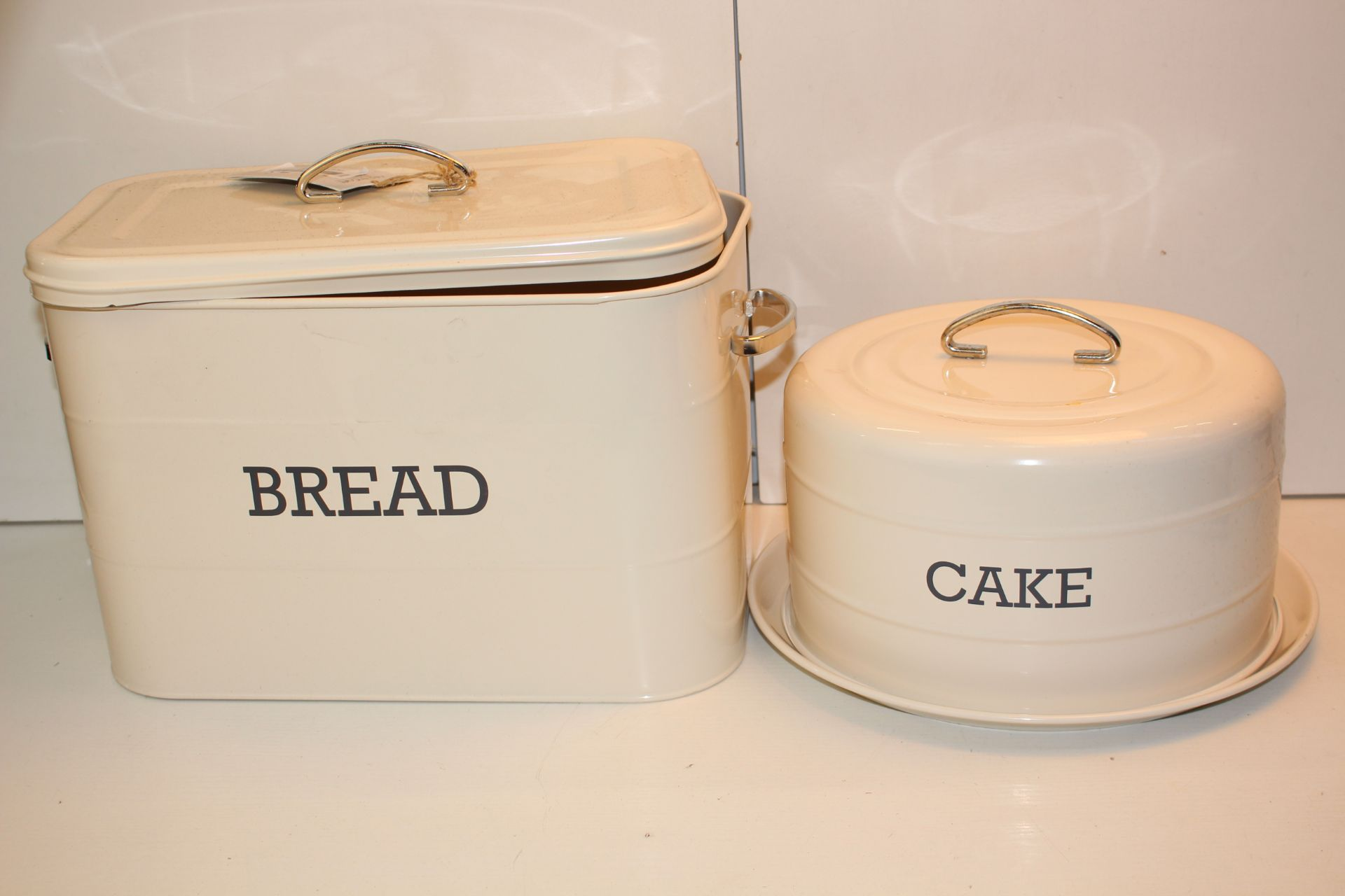 X2 CREAM BREAD BINSCondition ReportAppraisal Available on Request- All Items are Unchecked/