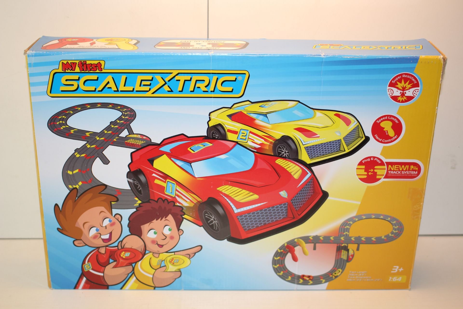 BOXED MY FIRST SCALEXTRIC RRP £39.97Condition ReportAppraisal Available on Request- All Items are