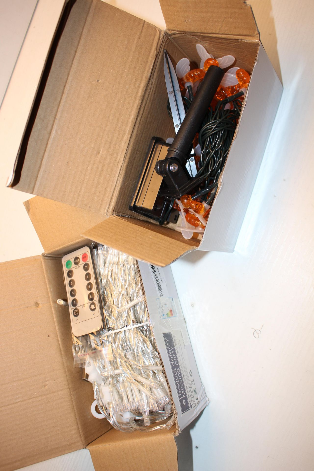 2X BOXED SETS OF STRING LIGHTS (IMAGE DEPICTS STOCK)Condition ReportAppraisal Available on