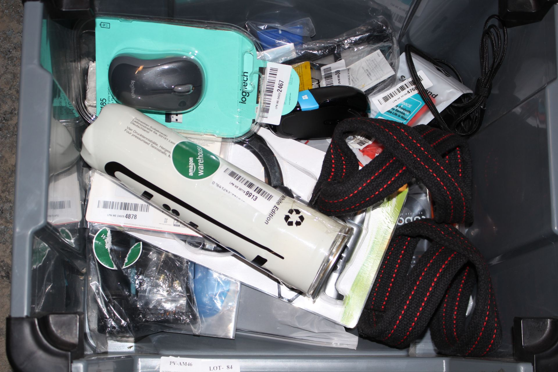 18X ASSORTED ITEMS (IMAGE DEPICTS STOCK/GREY BOX NOT INCLUDED)Condition ReportAppraisal Available on