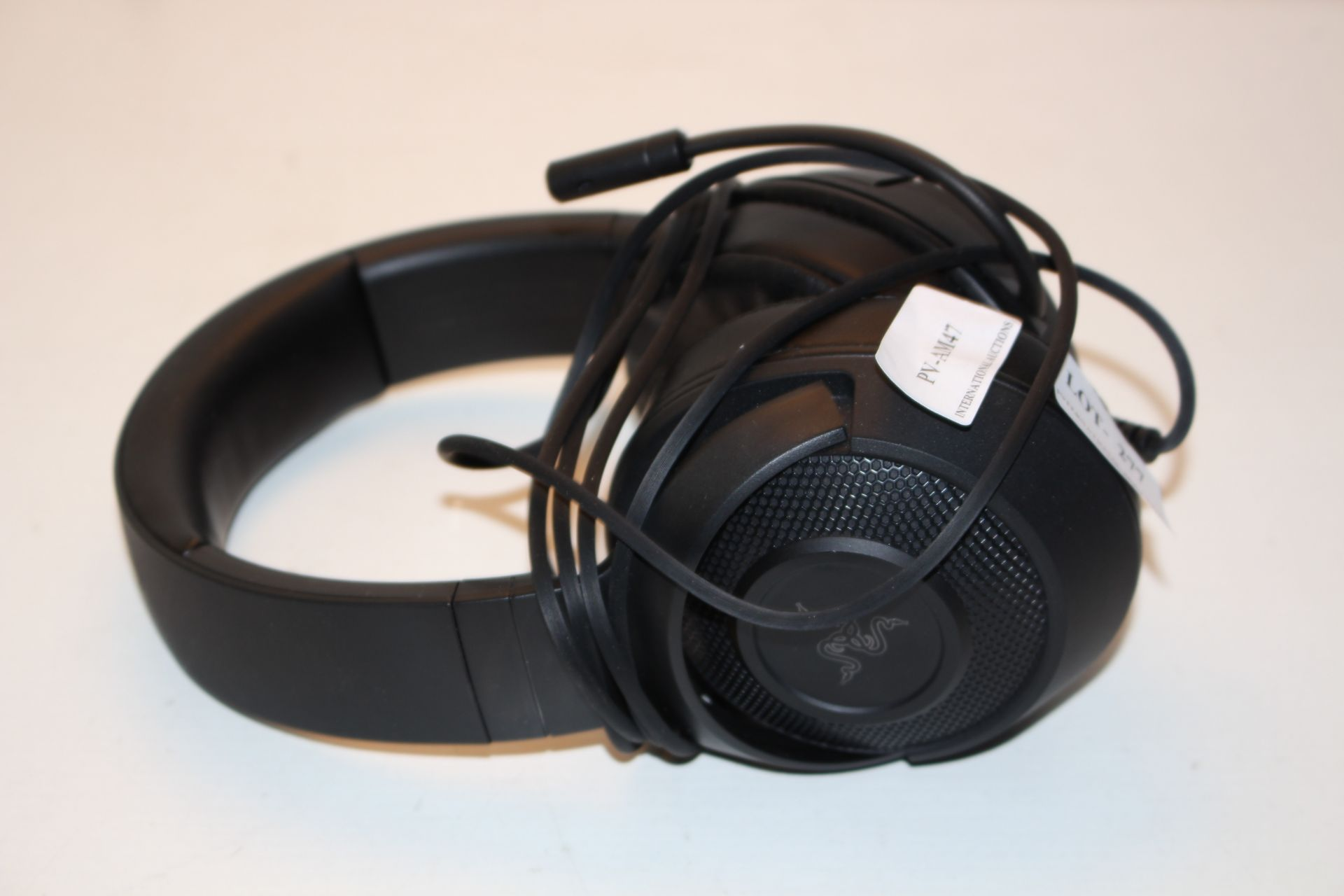 UNBOXED RAZER GAMING HEADSET RRP £59.99Condition ReportAppraisal Available on Request- All Items are