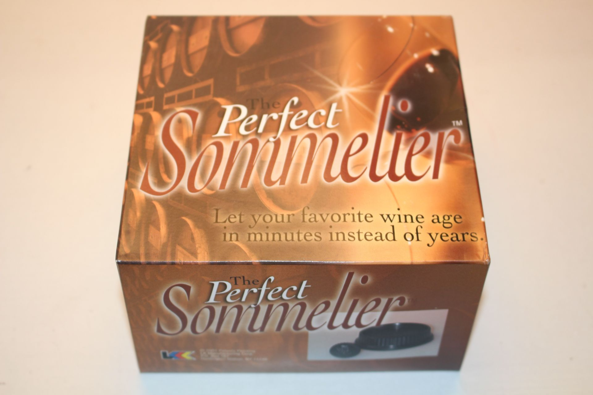 4X BOXED THE PERFECT SOMMELIER WINE AGING KITS Condition ReportAppraisal Available on Request- All